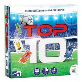 JEU TOP 10 FOOT EURO EDITION