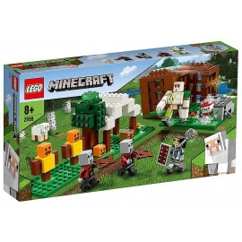 21159 L'AVANT POSTE DES PILLARDS LEGO MINECRAFT-LiloJouets-Morbihan-Bretagne