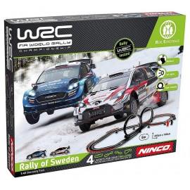 CIRCUIT VOITURES WRC SWEDEN 6M AVEC 2 VOITURES-LiloJouets-Morbihan-Bretagne