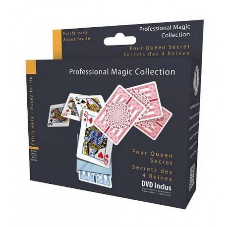 SECRET DES 4 REINES - TOUR DE MAGIE DVD INCLUS-jouets-sajou-56