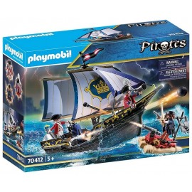 70412 CHALOUPE DES SOLDATS PLAYMOBIL PIRATES