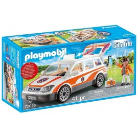 70050 VOITURE ET AMBULANCIER PLAYMOBIL CITY LIFE
