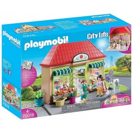 70016 MAGASINS DE FLEURS CITY LIFE PLAYMOBIL
