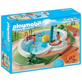 9422 PISCINE AVEC DOUCHE PLAYMOBIL FAMILY FUN