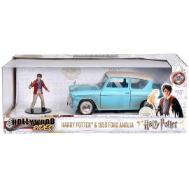 VOITURE FORD ANGLIA 1959 1.24E AVEC FIGURINE HARRY POTTER
