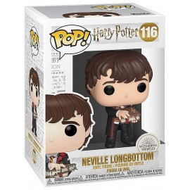 FIGURINE POP 116 NEVILLE AVEC LIVRE MONSTRE HARRY POTTER 9CM