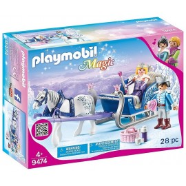 9474 COUPLE ROYAL ET CALECHE PLAYMOBIL MAGIC