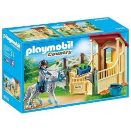 6935 BOX AVEC CAVALIERE ET CHEVAL PLAYMOBIL COUNTRY