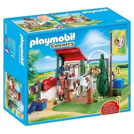 6929 BOX LAVAGE CHEVAUX PLAYMOBIL COUNTRY