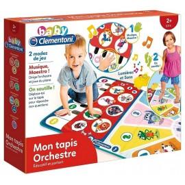 MON TAPIS ORCHESTRE EDUCATIF ET PARLANT BABY CLEMENTONI