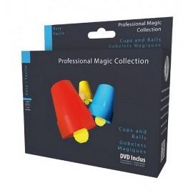 GOBELETS MAGIQUES - TOUR DE MAGIE DVD INCLUS-jouets-sajou-56