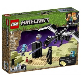 21151 BATAILLE DE L'END LEGO MINECRAFT-LiloJouets-Morbihan-Bretagne