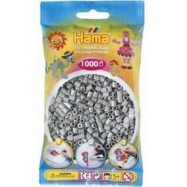 SACHET 1000 PERLES HAMA GRIS-jouets-sajou-56