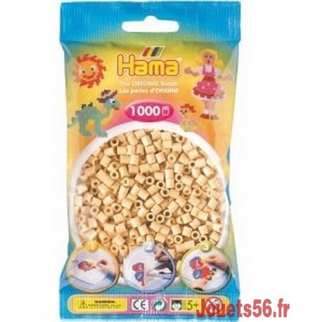 SACHET 1000 PERLES HAMA BEIGE-jouets-sajou-56