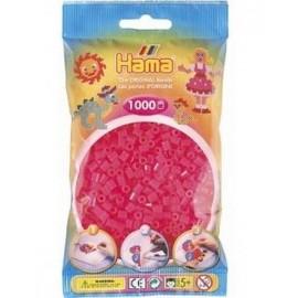 SACHET 1000 PERLES HAMA FUSHIA   -jouets-sajou-56