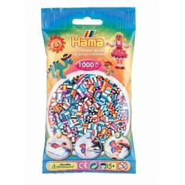 SACHET 1000 PERLES HAMA BICOLORE   -jouets-sajou-56
