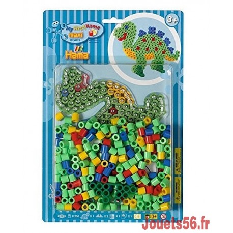 PERLES MAXI DINOSAURE GM HAMA-jouets-sajou-56