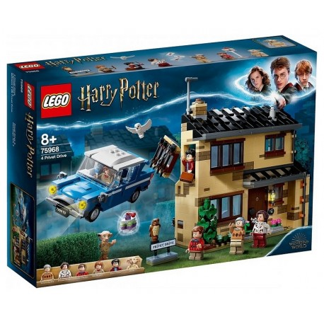 75968 RUE PRIVET DRIVE N4 LEGO HARRY POTTER-LiloJouets-Morbihan-Bretagne