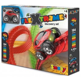 CIRCUIT FLEXTREME SET DECOUVERTE 184 PIECES-LiloJouets-Morbihan-Bretagne