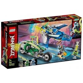71709 LES BOLIDES DE JAY ET LLOYD LEGO NINJAGO-LiloJouets-Morbihan-Bretagne