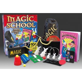 MAGIC SCHOOL 100 TOURS DE MAGIE ET DVD-jouets-sajou-56