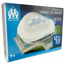 STADE 3D LED VELODROME OLYMPIQUE MARSEILLE PUZZLE 69PCES-LiloJouets-Morbihan-Bretagne