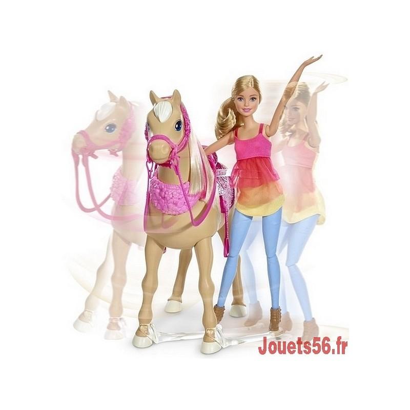 Barbie cheval de danse - Barbie au cheval ...