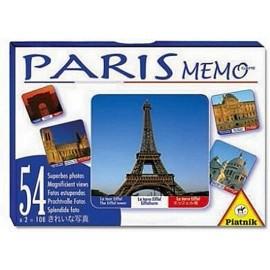 PARIS MEMO JEU DE MEMORY
