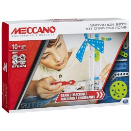 KIT D'INNOVATIONS MACHINES A ENGRENAGES 188 PIECES MECCANO