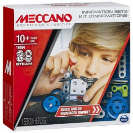 KIT D'INNOVATIONS MONTAGES RAPIDES 79 PIECES MECCANO
