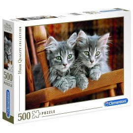 PUZZLE CHATONS 500 PIECES HIGH QUALITY-LiloJouets-Morbihan-Bretagne