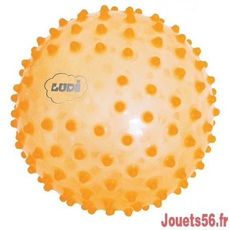 BALLE SENSORIELLE ORANGE-jouets-sajou-56