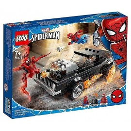 76173 SPIDER-MAN ET GHOST RIDER CONTRE CARNAGE LEGO SPIDERMAN MARVEL