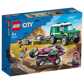 60288 LE TRANSPORT DU BUGGY DE COURSE LEGO CITY