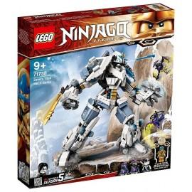 71738 LE ROBOT DE COMBAT TITAN DE ZANE LEGO NINJAGO