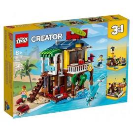 31118 MAISON SUR LA PLAGE DU SURFEUR LEGO CREATOR 3EN1
