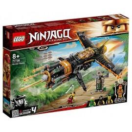 71736 LE JET MULTI-MISSILES BOULDER BLASTER LEGO NINJAGO