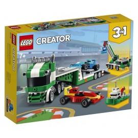 31113 TRANSPORTEUR DE VOITURES DE COURSE LEGO CREATOR 3EN1