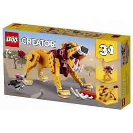 31112 LE LION SAUVAGE LEGO CREATOR 3EN1