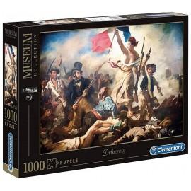 PUZZLE LIBERTE GUIDANT LE PEUPLE 1000 PIECES COLLECTION LOUVRE