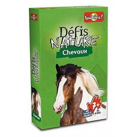 CHEVAUX DEFIS NATURE CARTES