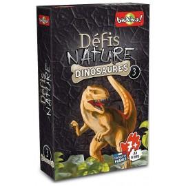 DINOSAURES V3 DEFIS NATURE CARTES