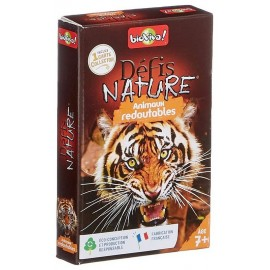 ANIMAUX REDOUTABLES DEFIS NATURE CARTES