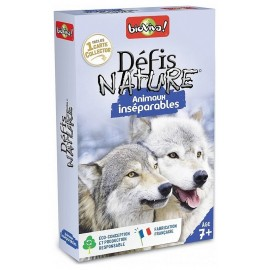 ANIMAUX INSEPARABLES DEFIS NATURE CARTES