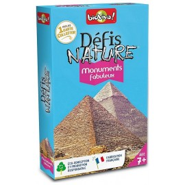 MONUMENTS FABULEUX - DEFIS NATURE CARTES