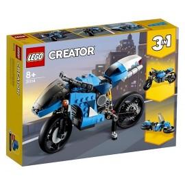 31114 LA SUPER MOTO LEGO CREATOR 3EN1