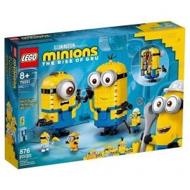 75551 MAXI MINIONS ET LEURS REPAIRES LEGO MINIONS