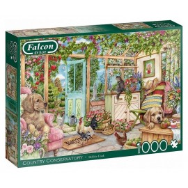 PUZZLE COUNTRY CONSERVATORY 1000 PIECES FALCON