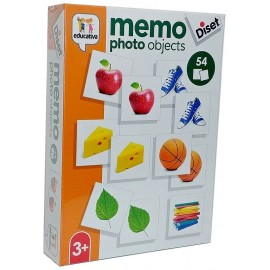 JEU MEMO PHOTO OBJETS 54 PIECES