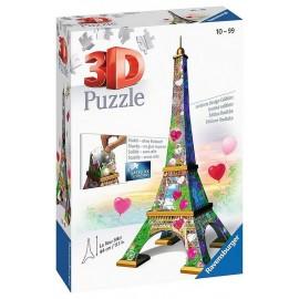 PUZZLE 3D TOUR EIFFEL LOVE EDITION 216 PIECES-LiloJouets-Morbihan-Bretagne